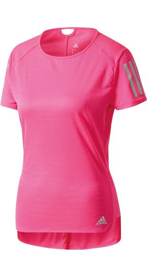 adidas Response hardloopshirt roze